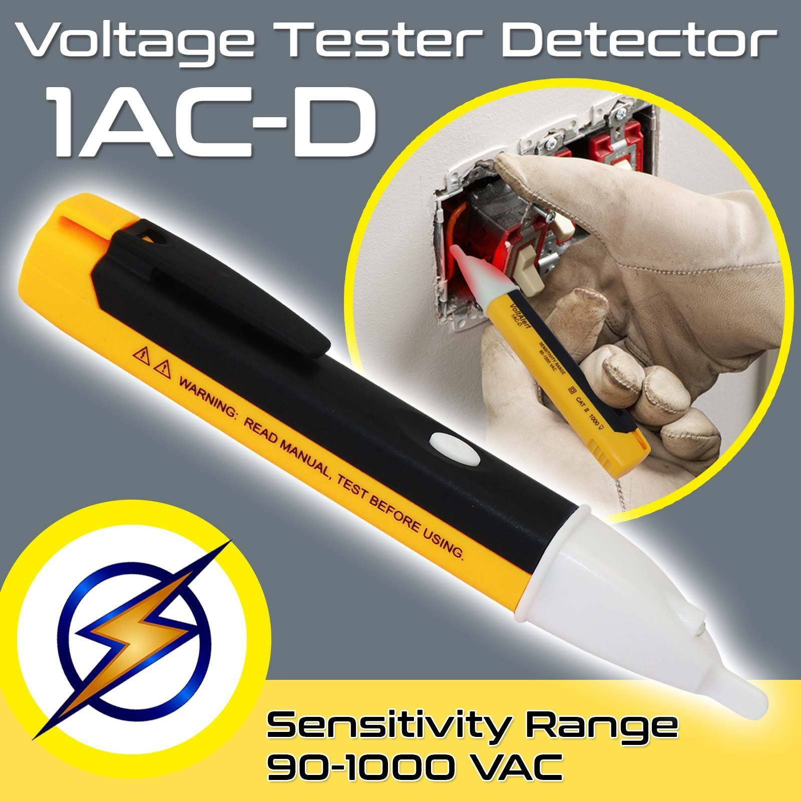 Voltage Electricity Tester Volt Mains Detector Circuit Test Pen Led About Ac 90v To 1000v Electrical Live Torch Pocket 1 Of 10free Shipping