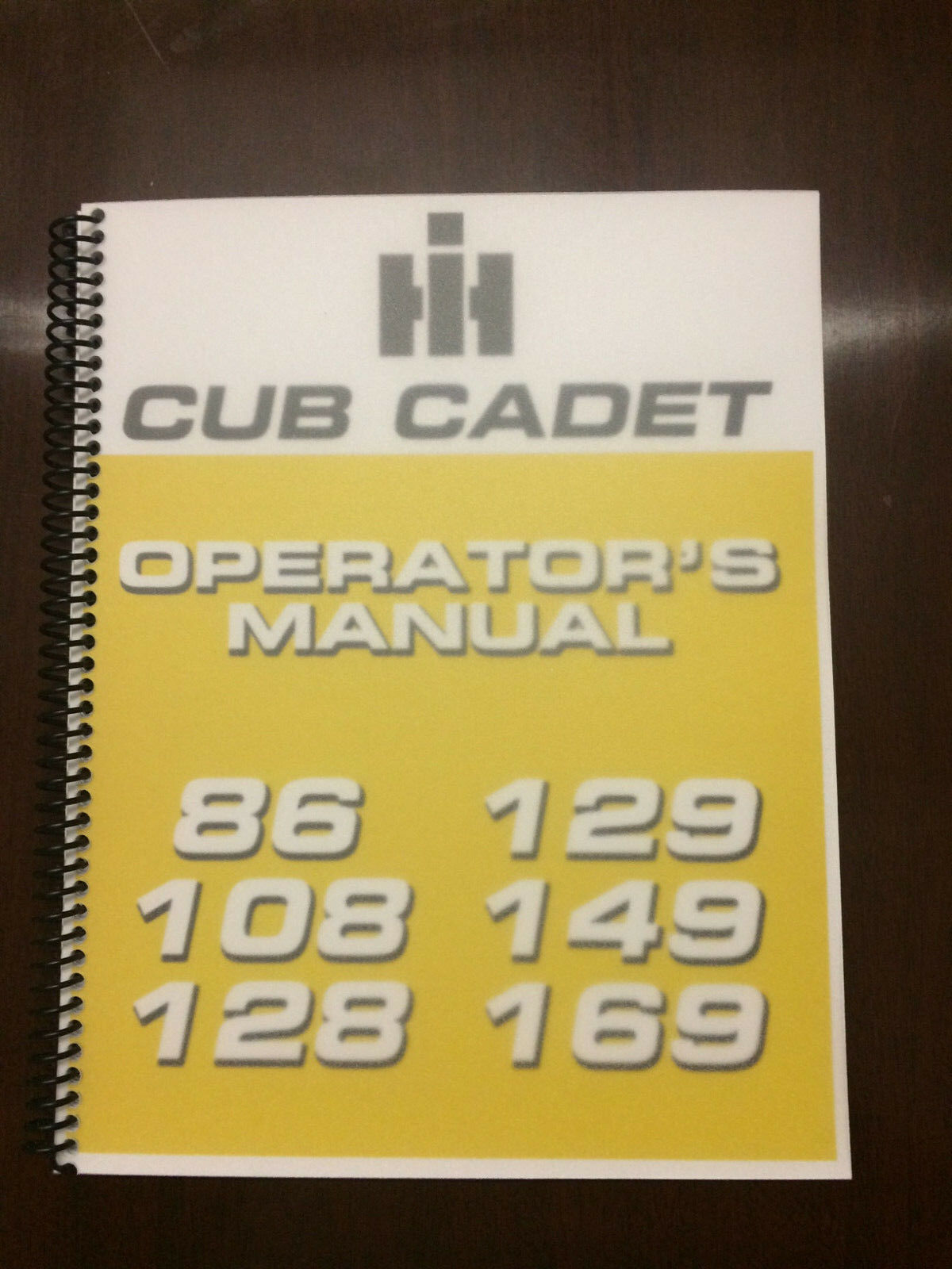 International Harvester Cub Cadet 86 108 128 129 149 169 Operators Manual  Owners 1 of 5FREE Shipping ...