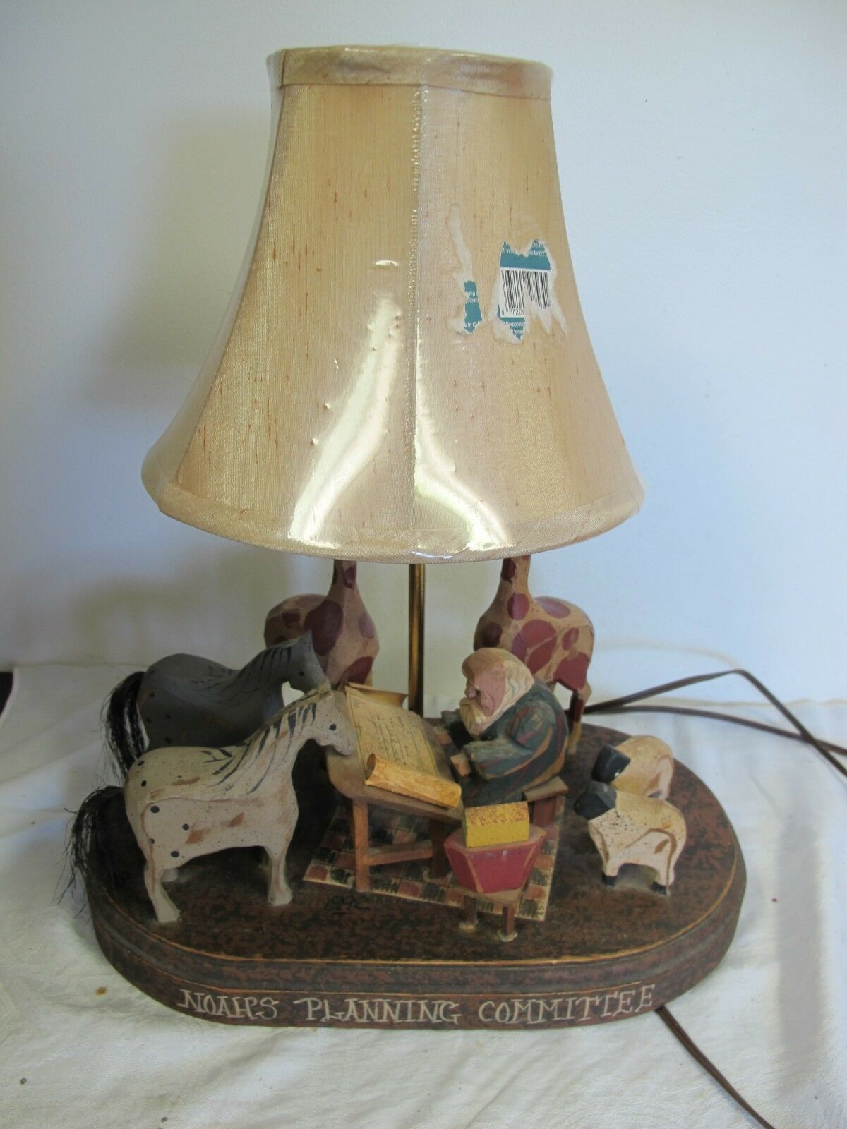 Vintage Nursery Lamp Noah S Planning Committee Barry Grosscup 1 Of 12only Available