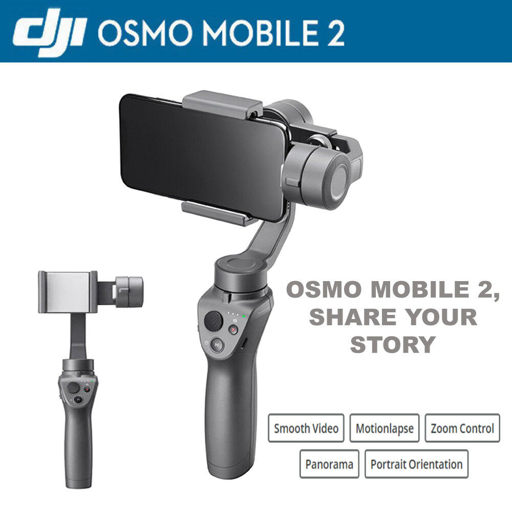 Dji Osmo Mobile 2 3 Axis Handheld Stabilizer Gimbal For Iphone Smartphone Android Phone 1 Of 6free Shipping