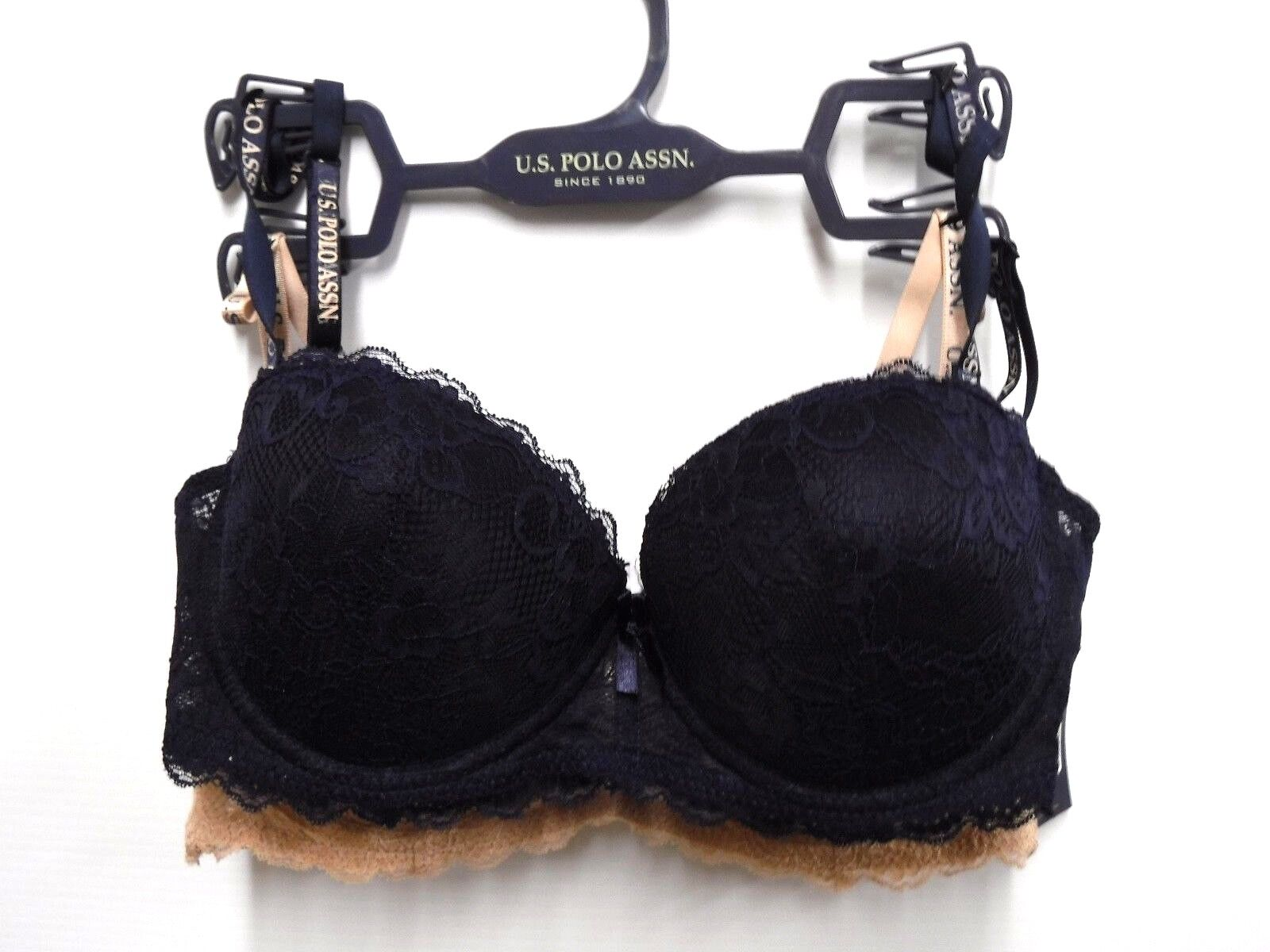 837dab094e 2 Pack US Polo Assn Womens 36C Lace Convertible Back Underwire Push Up Bra  New 1 of 2Only 1 available ...