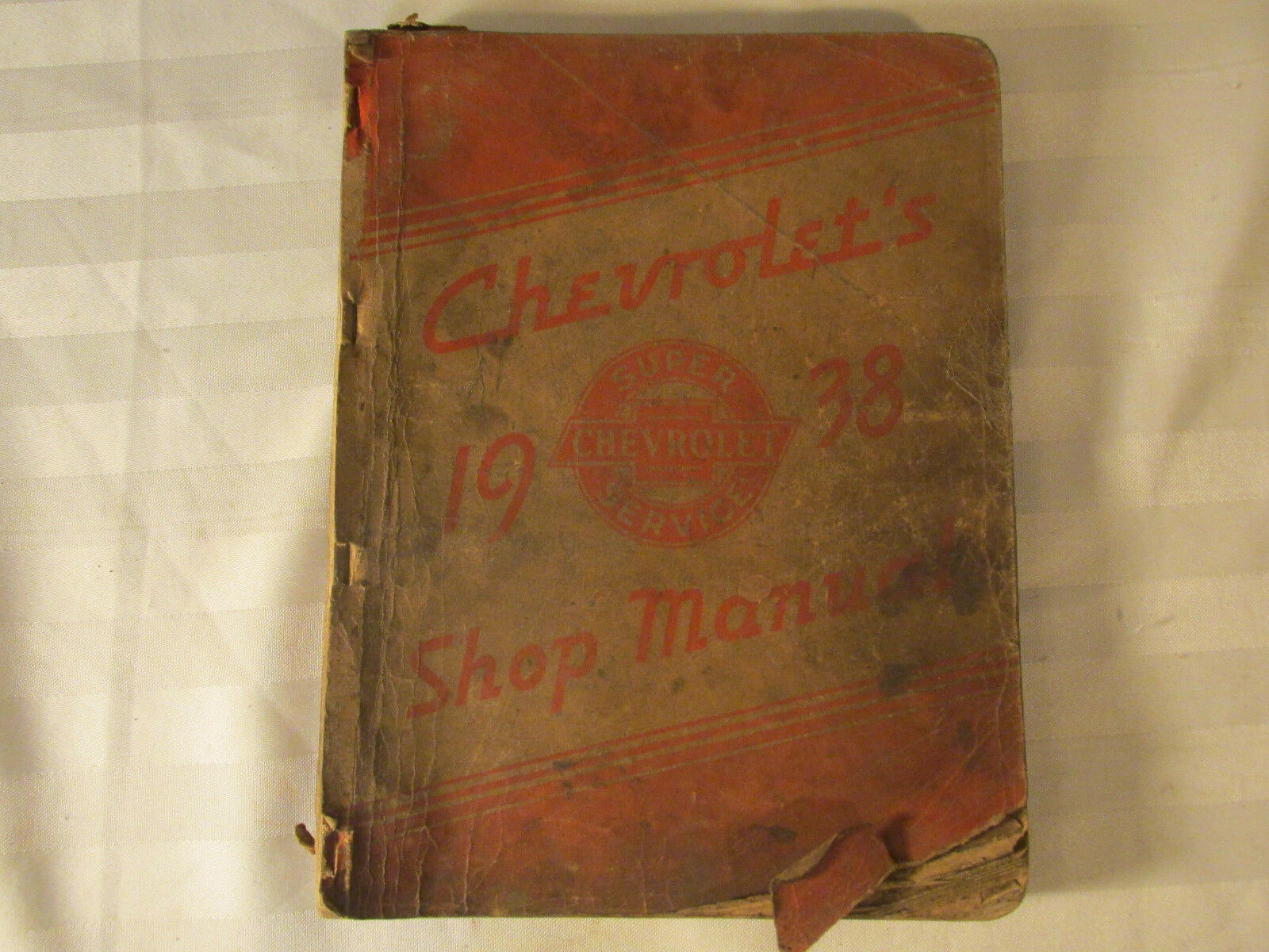Vintage 1938 Chevrolet Shop Manual Oem General Motors Original 1 of 7FREE  Shipping ...
