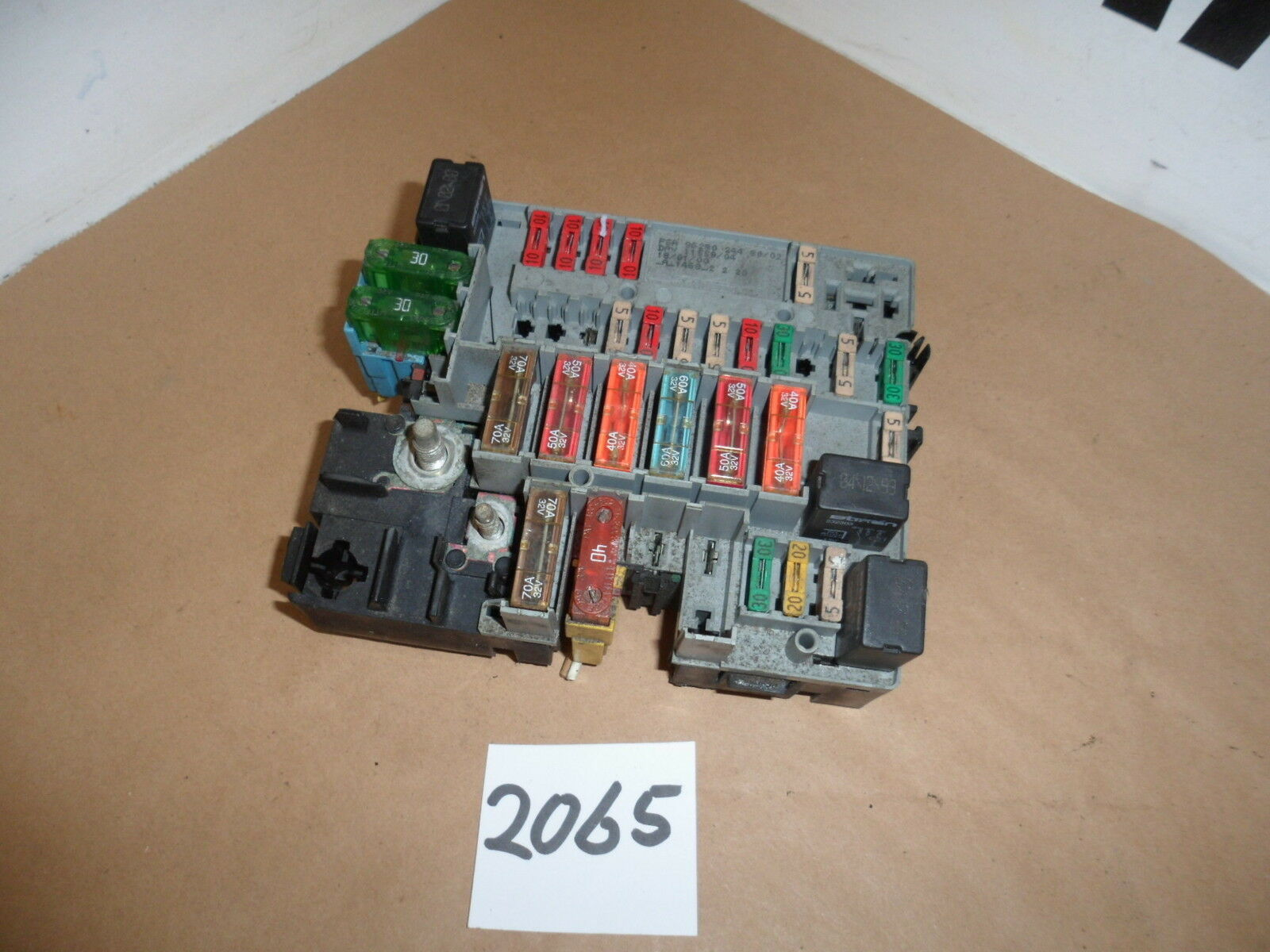 Peugeot 206 GTI Under Bonnet Fuse Box PSA 9628024480/02 DAV 11559/04 1 of  2FREE Shipping ...