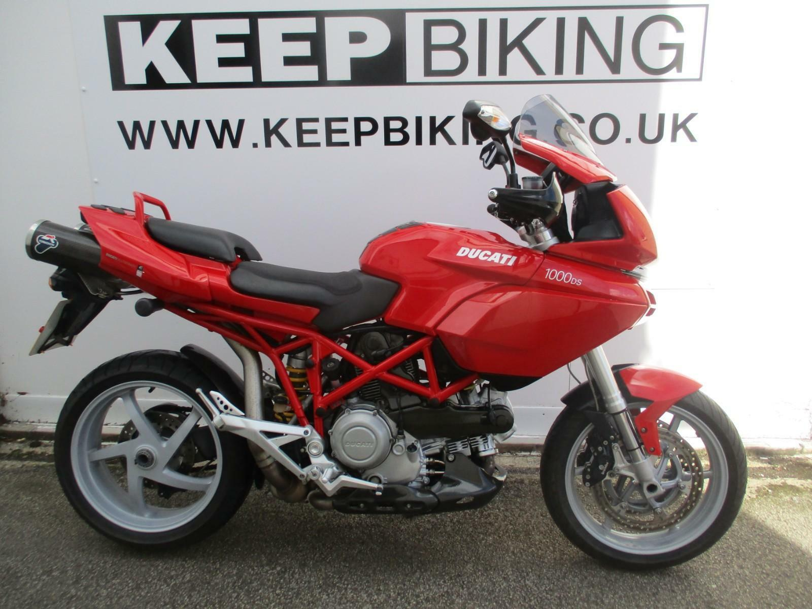 2003 Ducati Multistrada 1000Ds 13,574 Miles. Full Service History. 1 of 12  See More