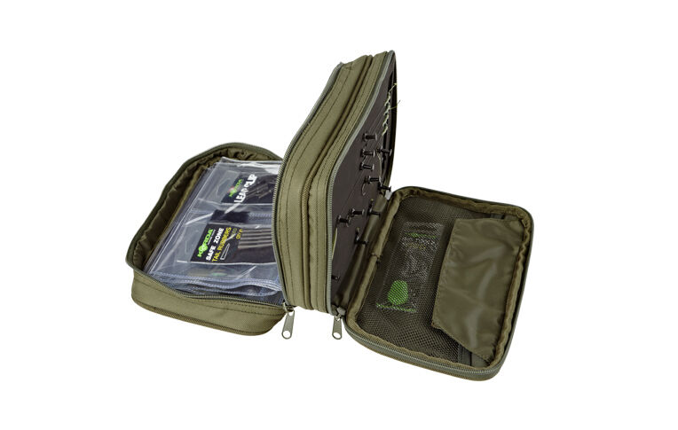 Trakker new carp fishing luggage nxg combi rig pouch for Rigged fishing backpack