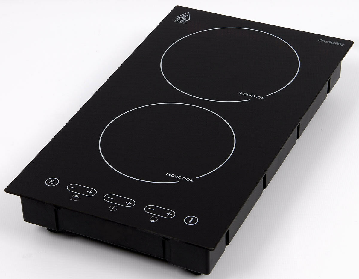 domino induction hob sensor touch control new 102. Black Bedroom Furniture Sets. Home Design Ideas