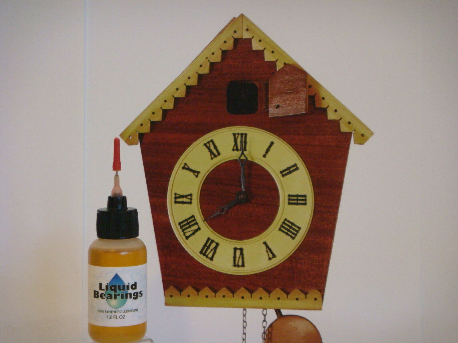 Liquid Bearings, BEST 100%-synthetic oil for Cuckoo or any vintage clocks, READ!