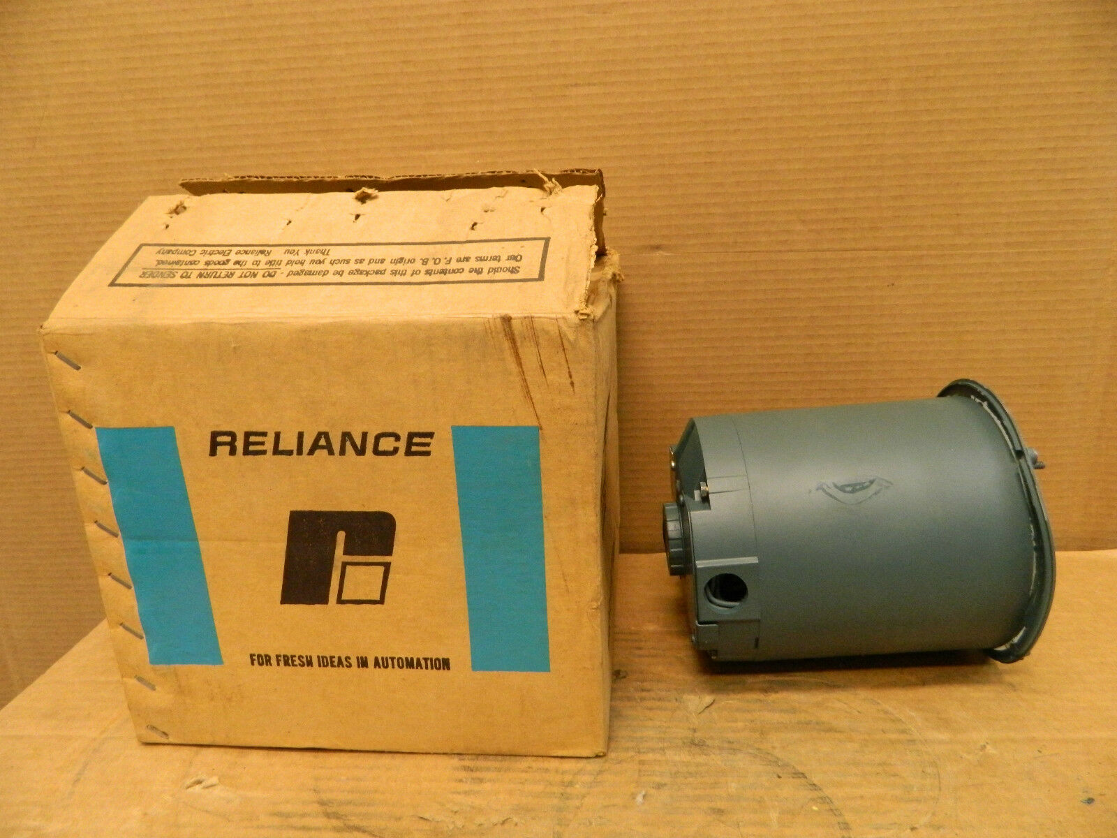 Reliance Electric Motor 420824 Dz 1 4 Hp 1 4hp 230 460 V