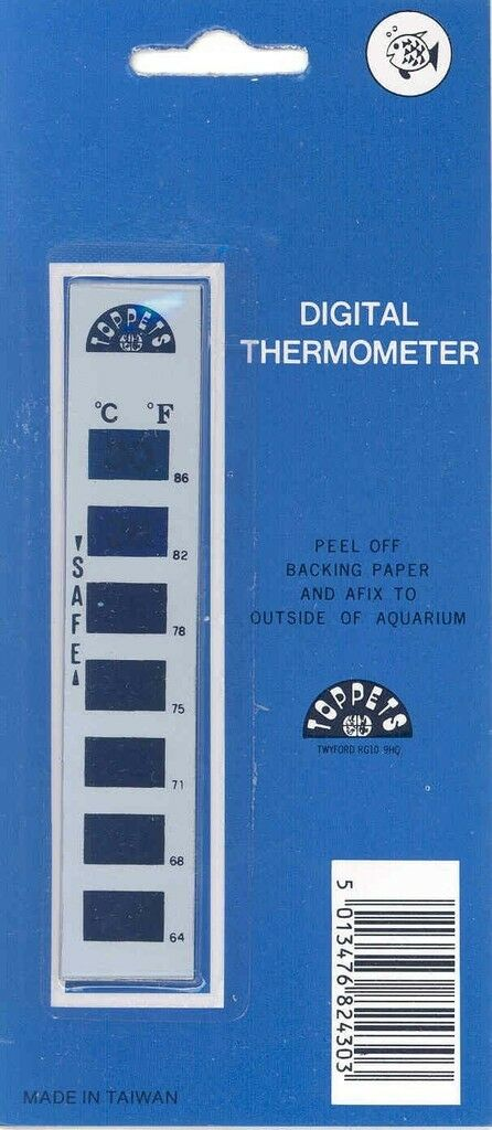 Lcd Digital Thermometer For Tanks And Aquariums
