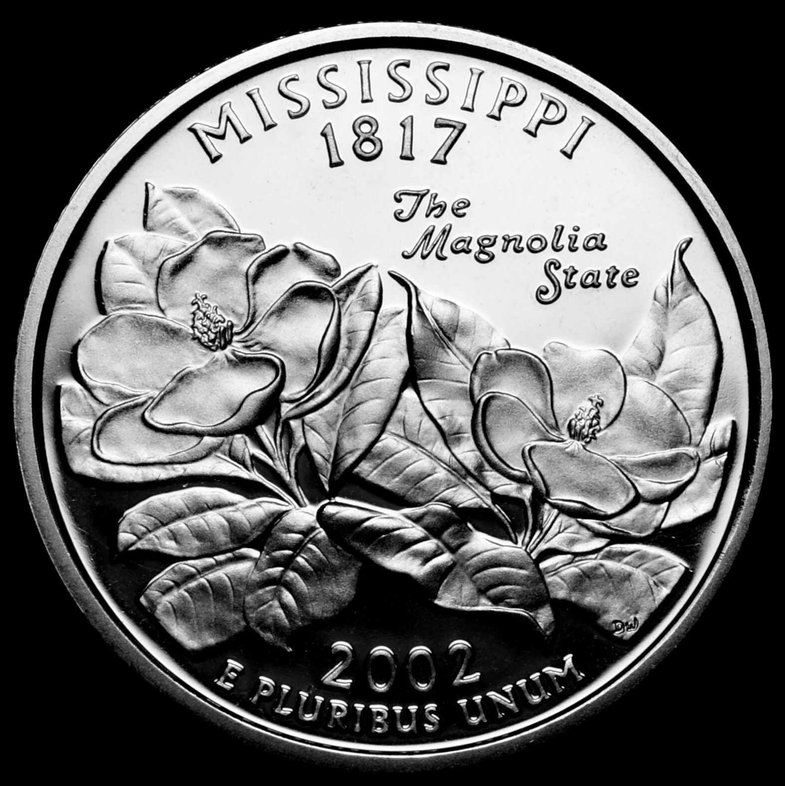 2002 s mississippi state gem clad proof statehood washington 1 of 2only 1 available publicscrutiny Gallery