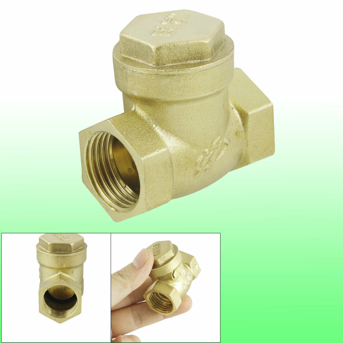 Solar water heater brass tone pt quot sewing check valve