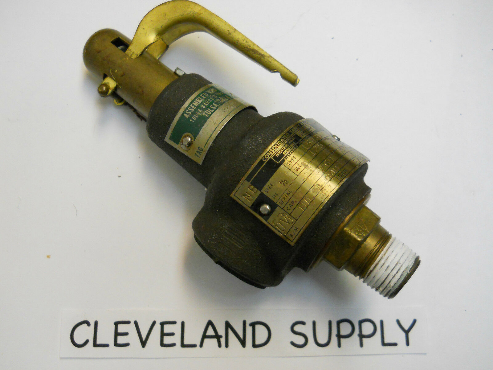 Dresser Consolidated 154 Safety Relief Valve 125 Set Pressure 1 2 Refurbished Of 1only Available