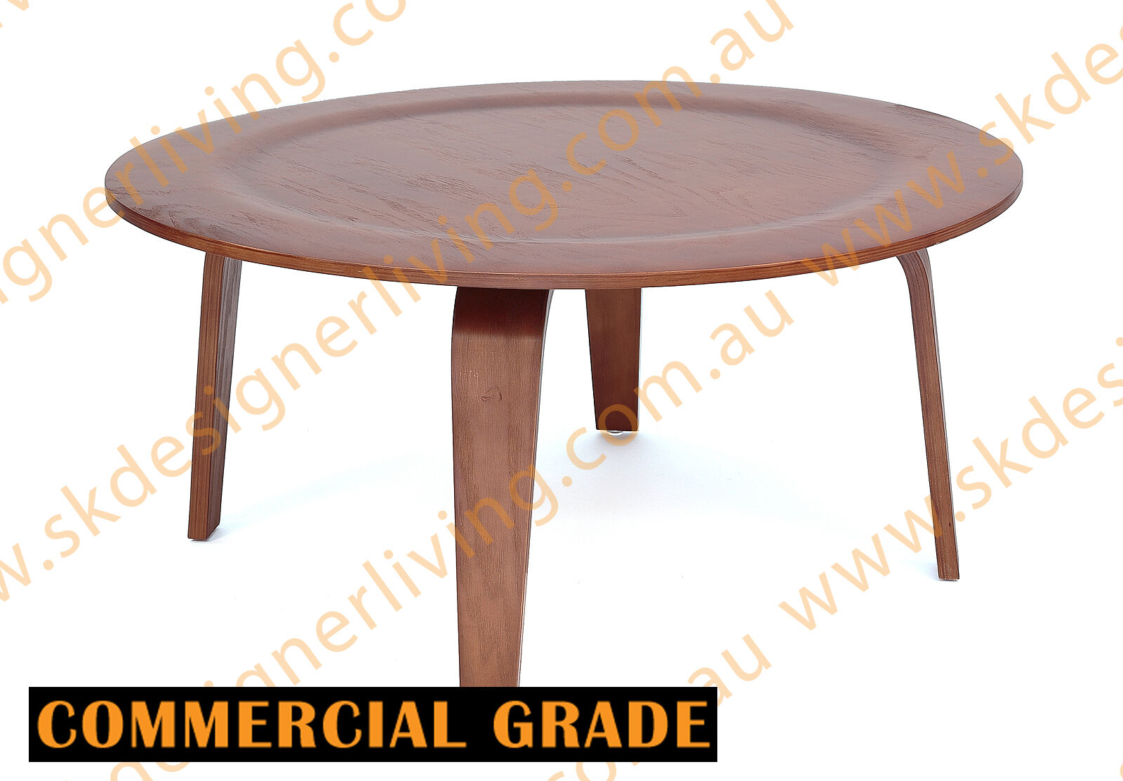 skdl replica ash walnut eames coffee table mdf top. Black Bedroom Furniture Sets. Home Design Ideas