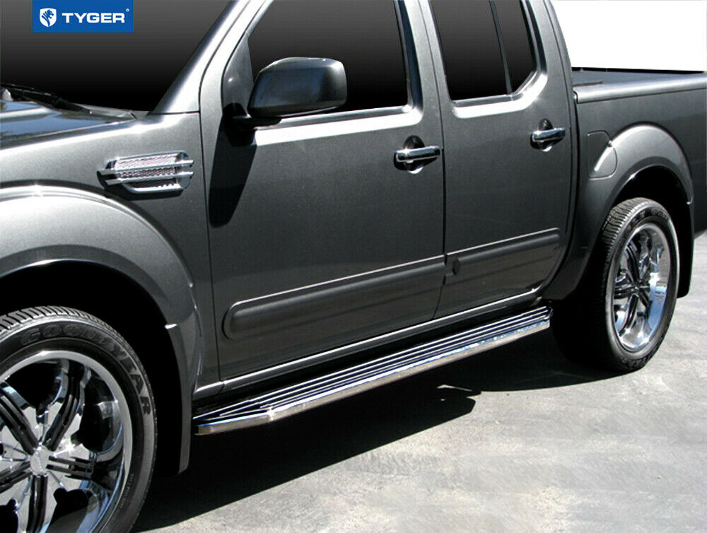 For 2005 2017 Nissan Frontier Crew Cab Black 79 Side Step Running
