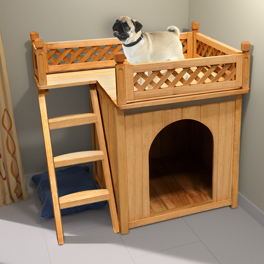 hundeh tte sonnenterrasse hundehaus tierhaus hundeh hle. Black Bedroom Furniture Sets. Home Design Ideas