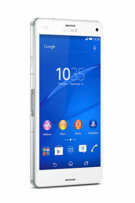 sony xperia z3 compact 16gb weiss neu ovp rechnung. Black Bedroom Furniture Sets. Home Design Ideas