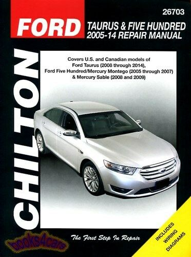 mercury sable shop manual service repair book chilton haynes rh picclick com 2005 mercury montego owner's manual 2004 mercury sable owners manual