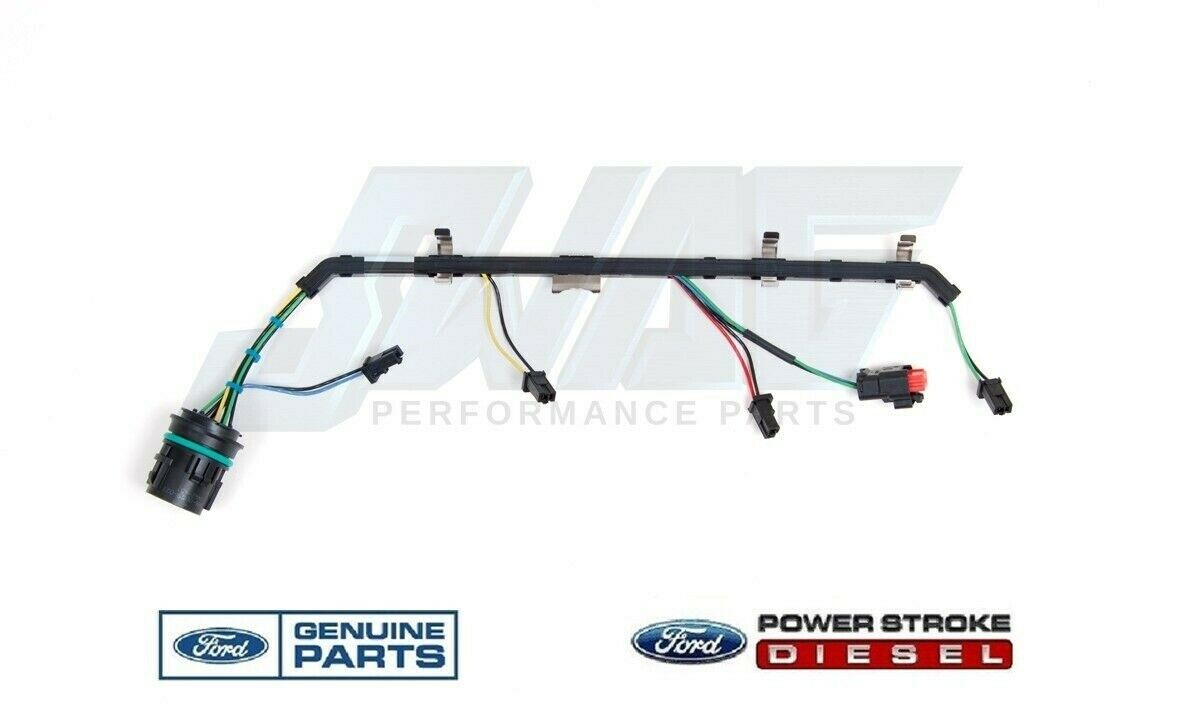 08 10 64l Powerstroke Diesel Oem Ford R H Right Fuel Injector Wiring Harness
