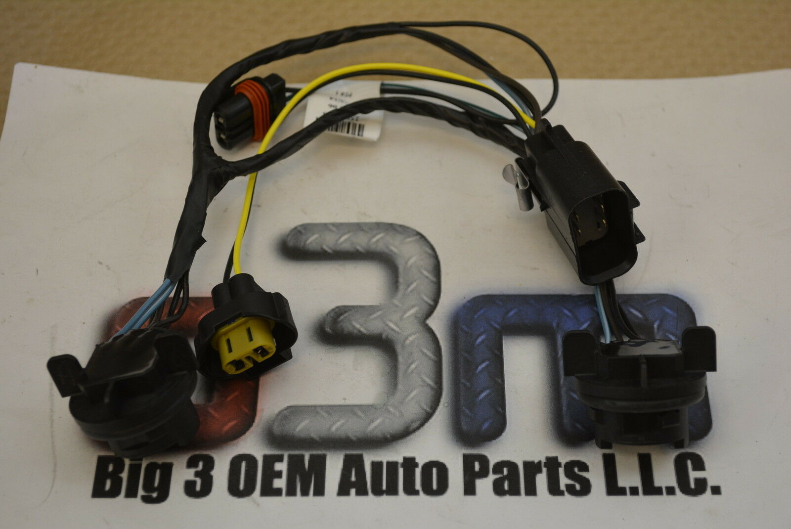 2007-2014 Chevrolet Silverado Headlamp Light Wiring Harness new OEM  25962806 1 of 1Only 1 available ...