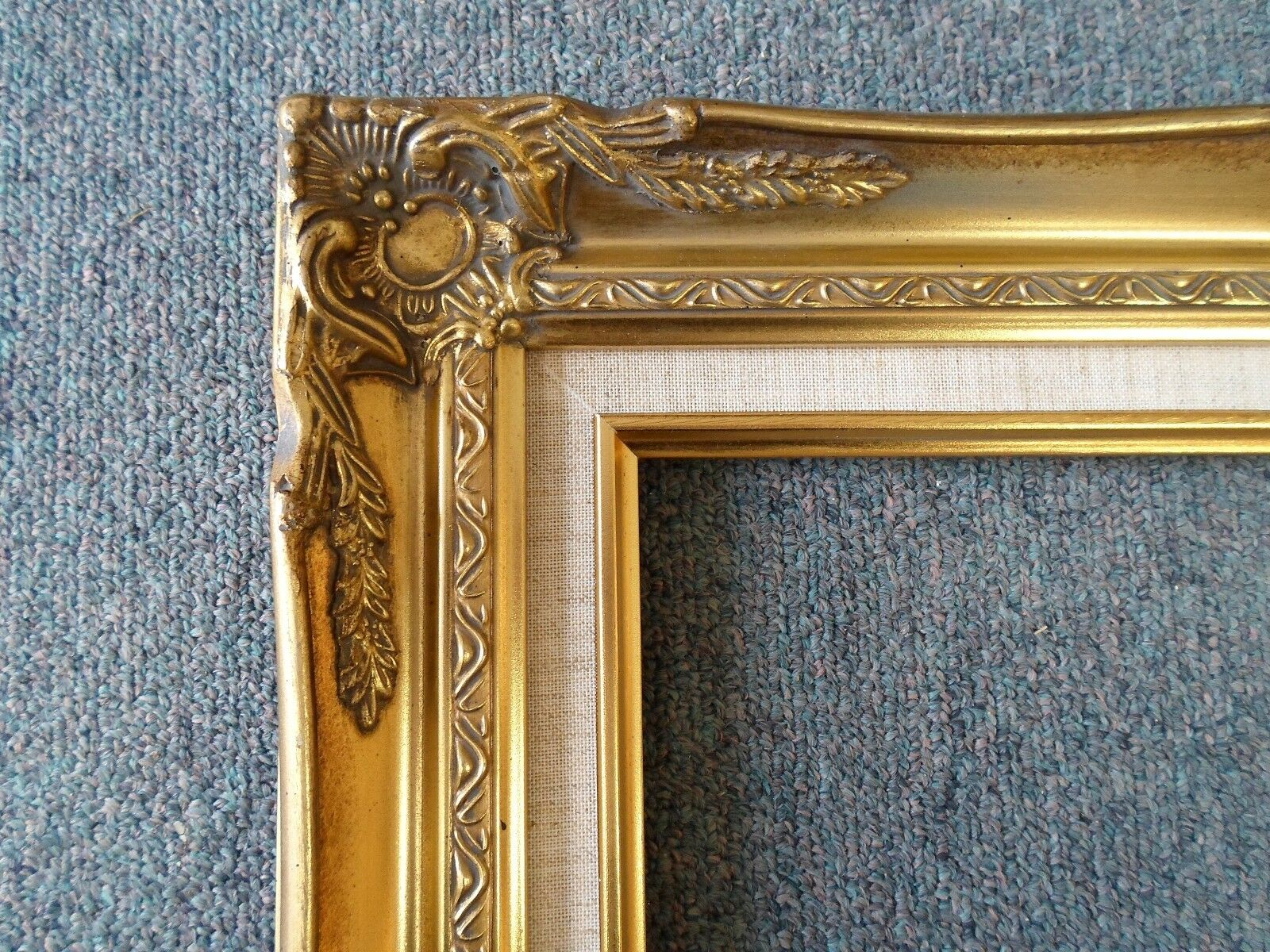 Picture frame 16x20 vintage antique style ornate old for Small vintage style picture frames