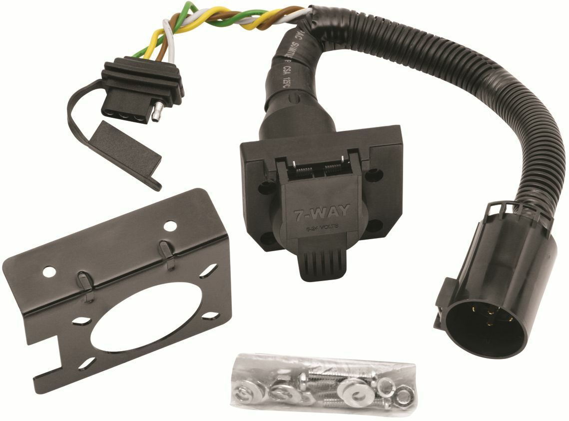 2000 2016 ford explorer trailer hitch wiring kit w factory tow rh picclick com