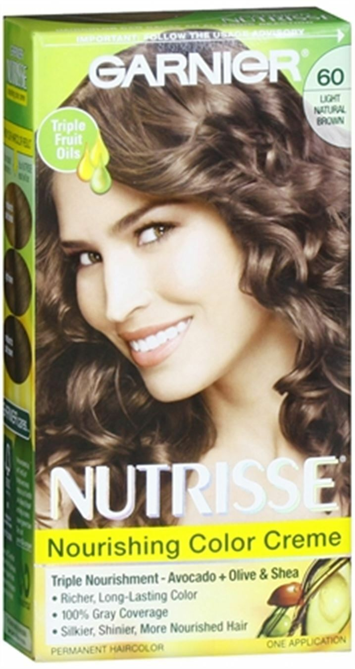 Garnier Nutrisse Haircolor 60 Acorn Light Natural Brown 1 Each