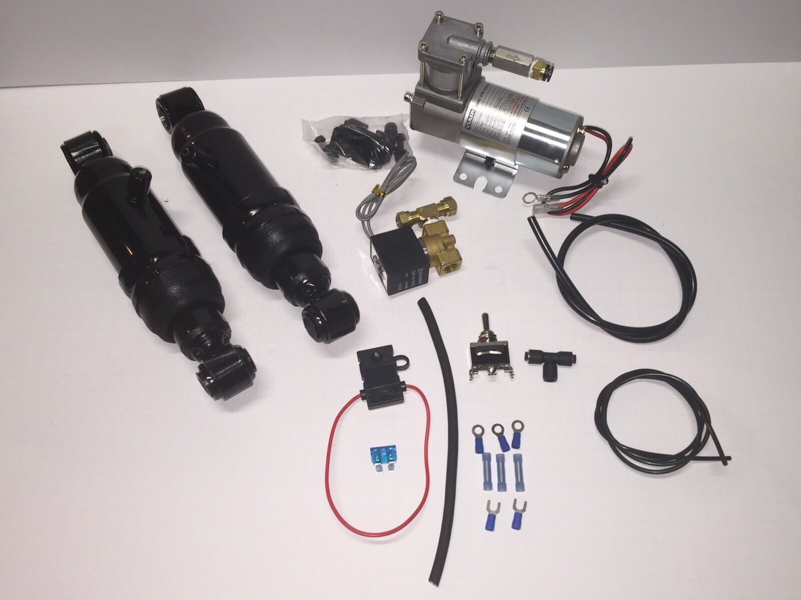 Handlebar Switch Included Harley Davidson Air Ride Kit 94 To Current Diy 1 Of 12free Shipping