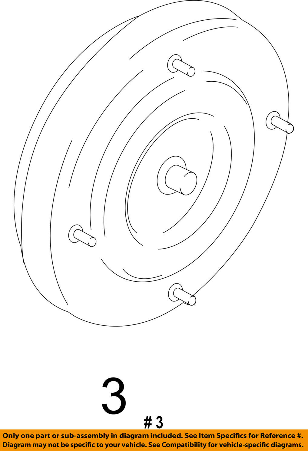Ford Oem Torque Converter 9l8z7902h 46422 Picclick Ca A606 42le Transmission Wiring Diagram 1 Of 2only 3 Available