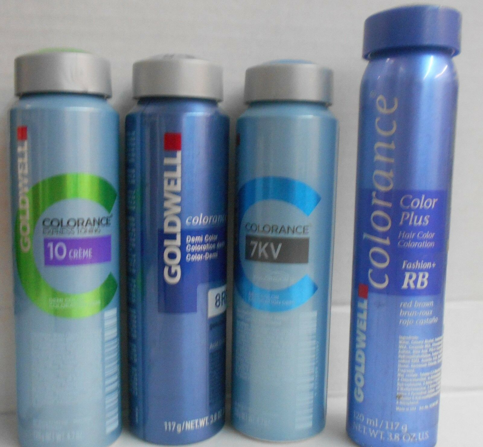 Goldwell Colorance Hair Color Canister 38 Oz Canlevel 10mixes