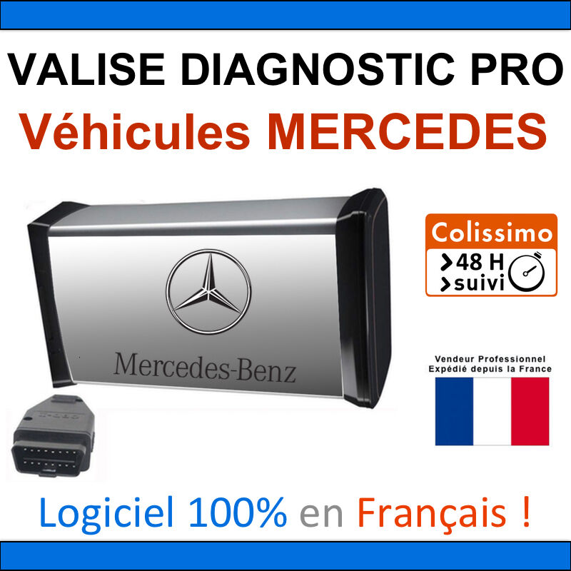 maxiecu 2 mpm com valise diagnostic mercedes benz star c3 c4 diag obd2 eur 149 99. Black Bedroom Furniture Sets. Home Design Ideas