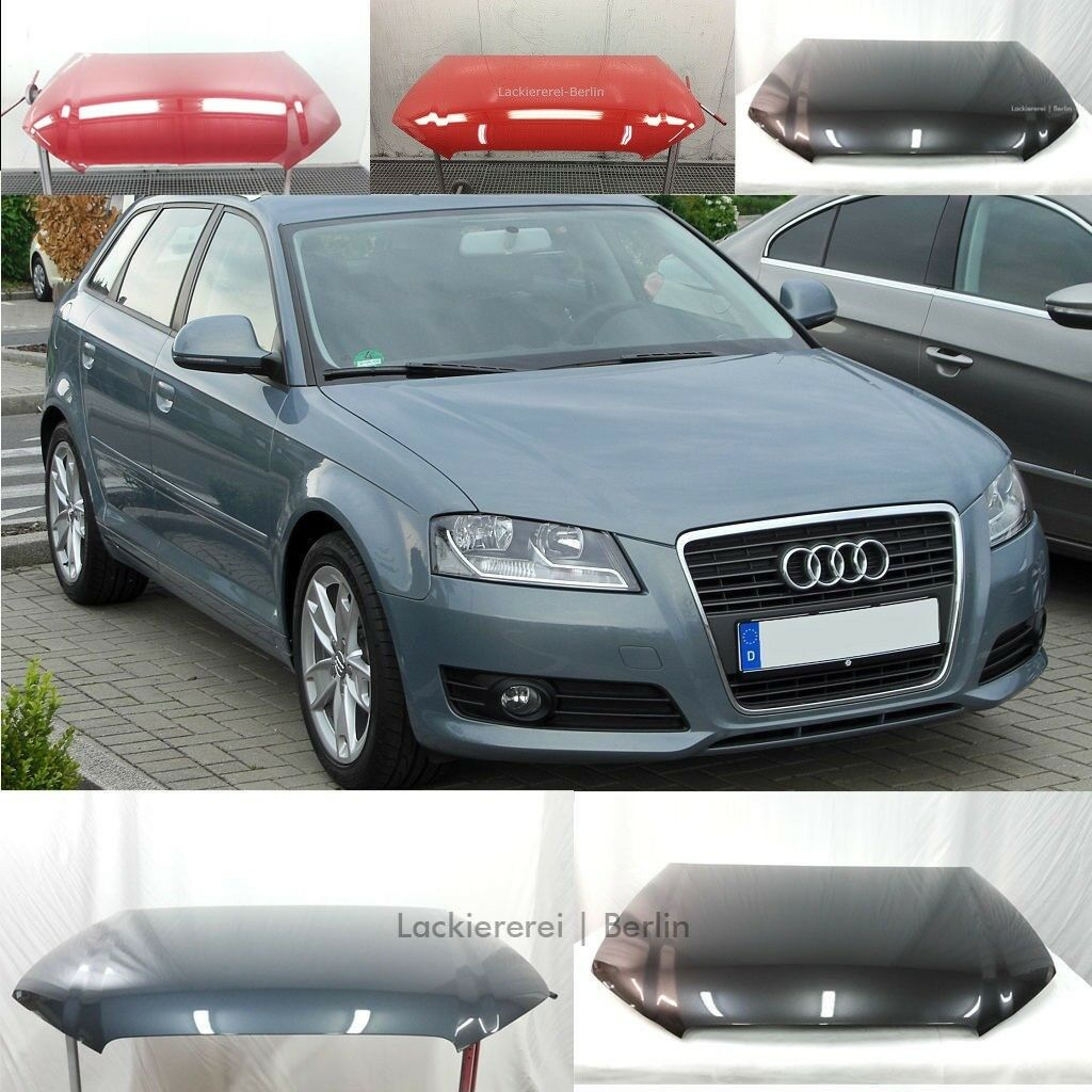 audi a3 8p 2008 2012 motorhaube lackiert in wunschfarbe extrem sicher verpackt eur 399 90. Black Bedroom Furniture Sets. Home Design Ideas