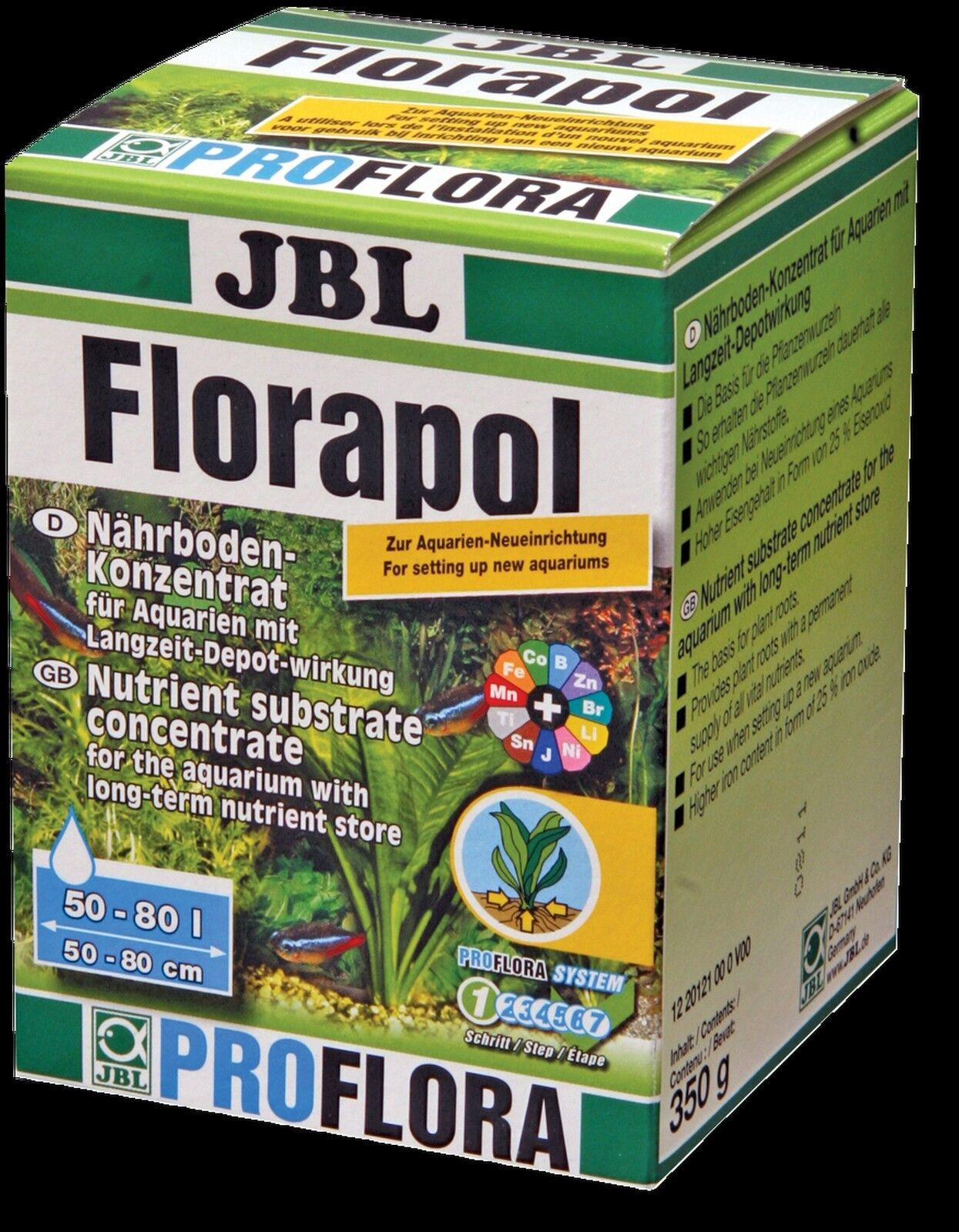 JBL Florapol 700g Nutrient Concentrate add Substrate aquarium plant fertiliser