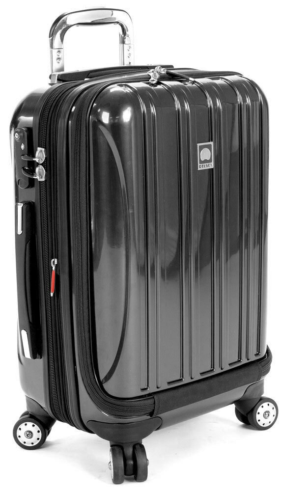 delsey helium aero international carry on expandable spinner luggage titanium cad. Black Bedroom Furniture Sets. Home Design Ideas