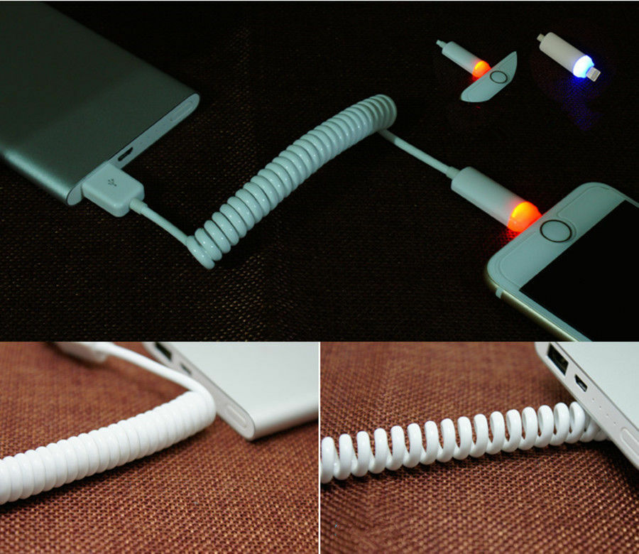how to put spring on iphone charger