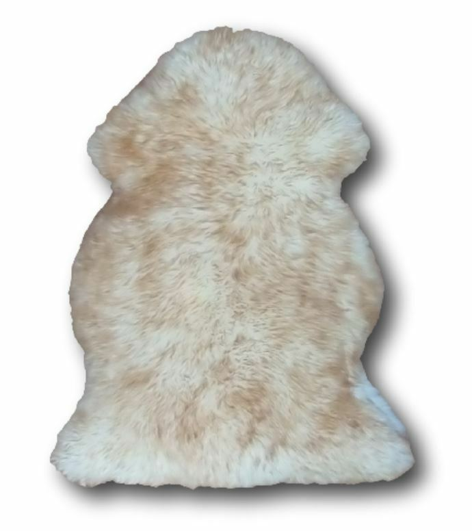 Extra Large Spiced Brown Sheepskin Rug 100 X 70cm Genuine