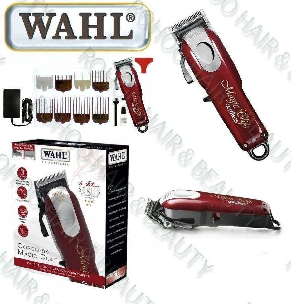 wahl magic clip cordless hair clipper uk plug 5 star series eur 115 93 picclick it. Black Bedroom Furniture Sets. Home Design Ideas