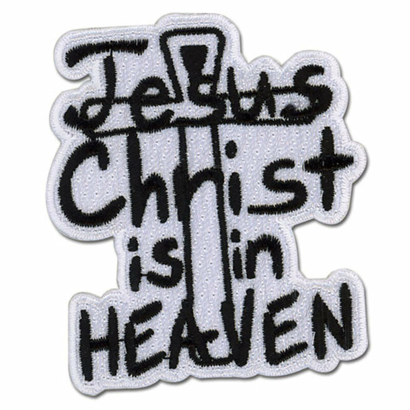 Hellsing Ultimate Jesus Christ Is In Heaven Iron Sew On Fabric