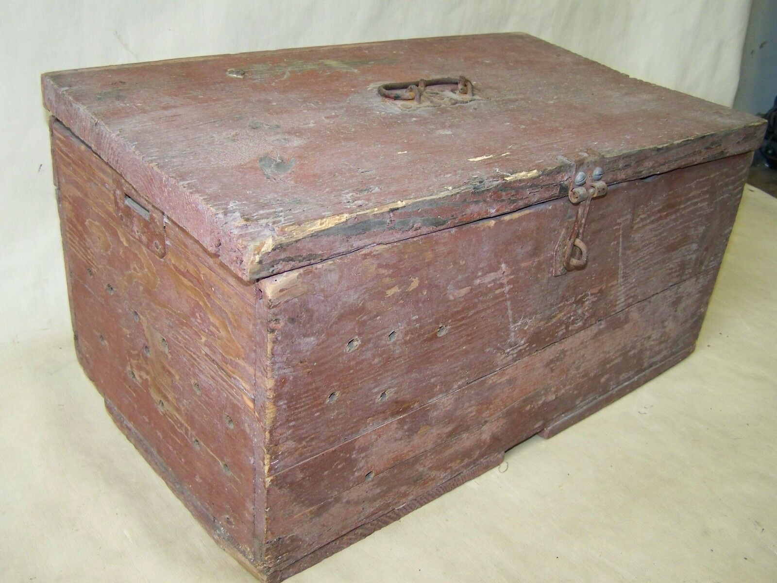 Little old Wooden Box, Wood chest box, Treasure chest Wood Chest