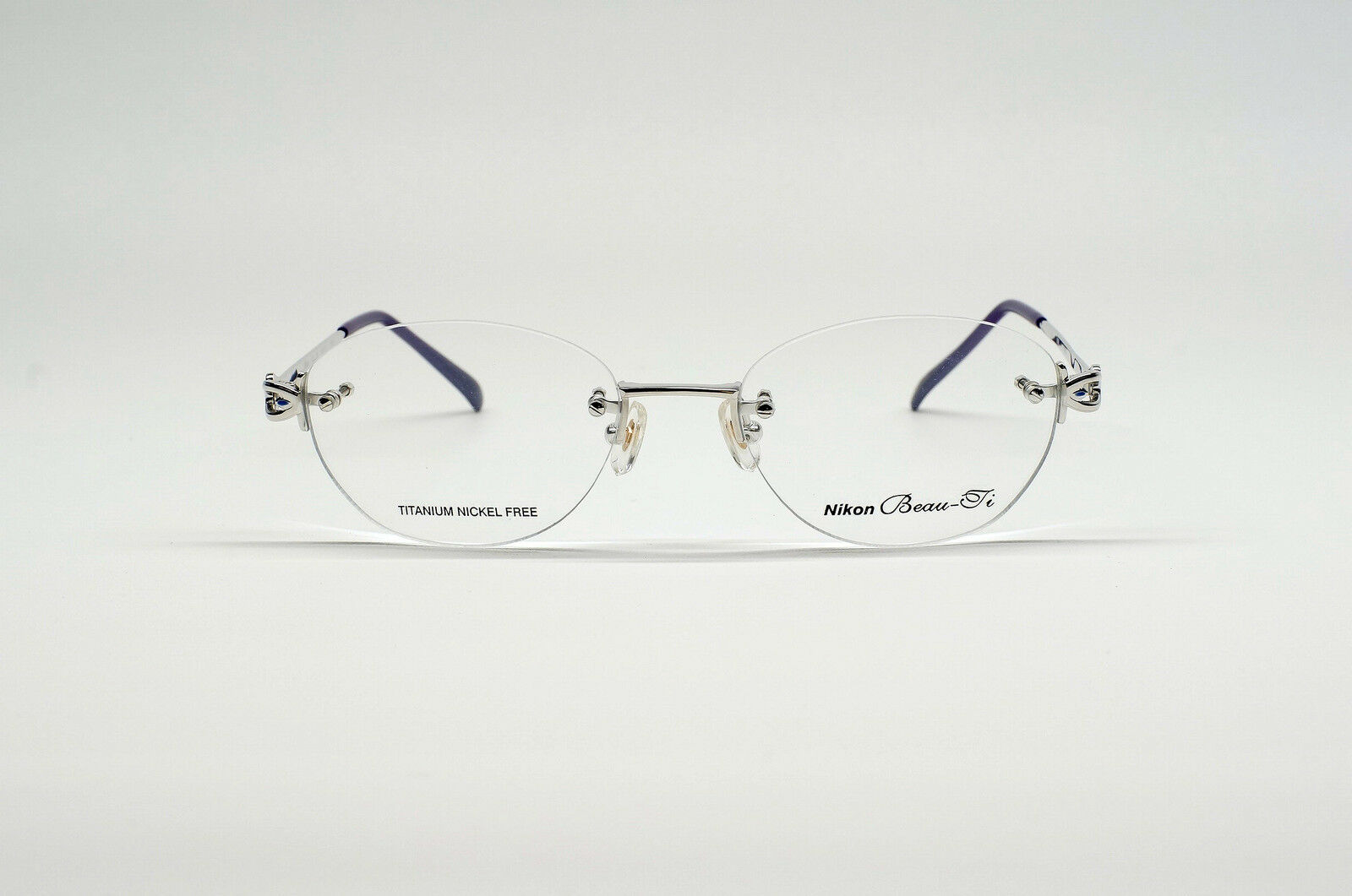 NEW NIKON WOMEN\'S Rimless/Titanium-Nickel-Free FRAME - Silver ...