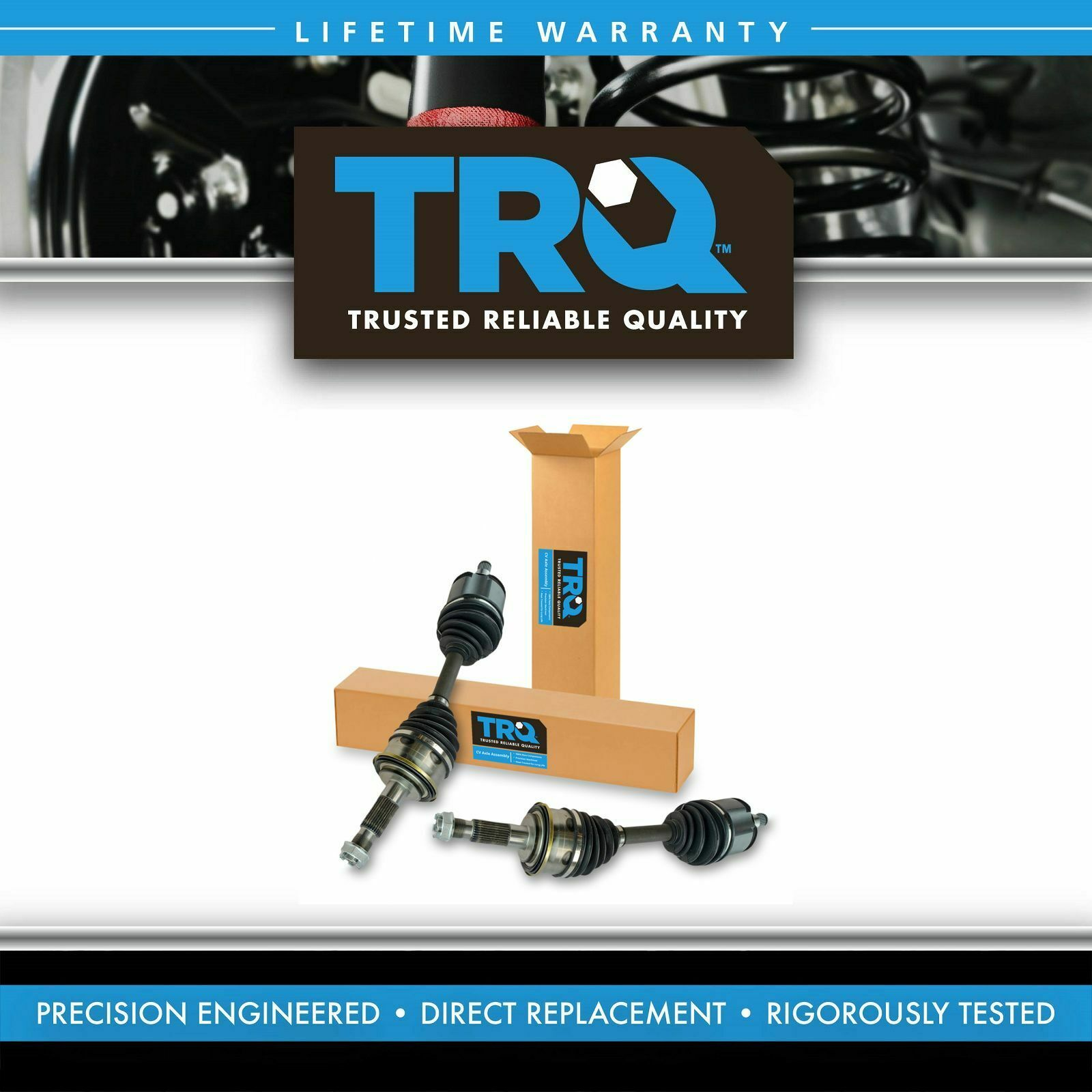 Trq Front Cv Axle Shaft Assembly Pair Set Of 2 For Toyota Tacoma 2000 4runner Driveshaft 1 7only 3 Available