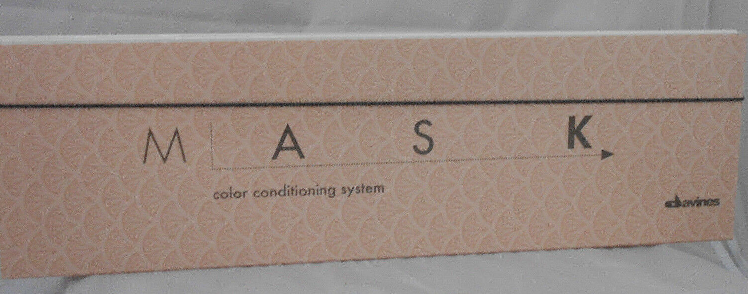 Davines Mask Color Conditioning System Swatch Chart Official New
