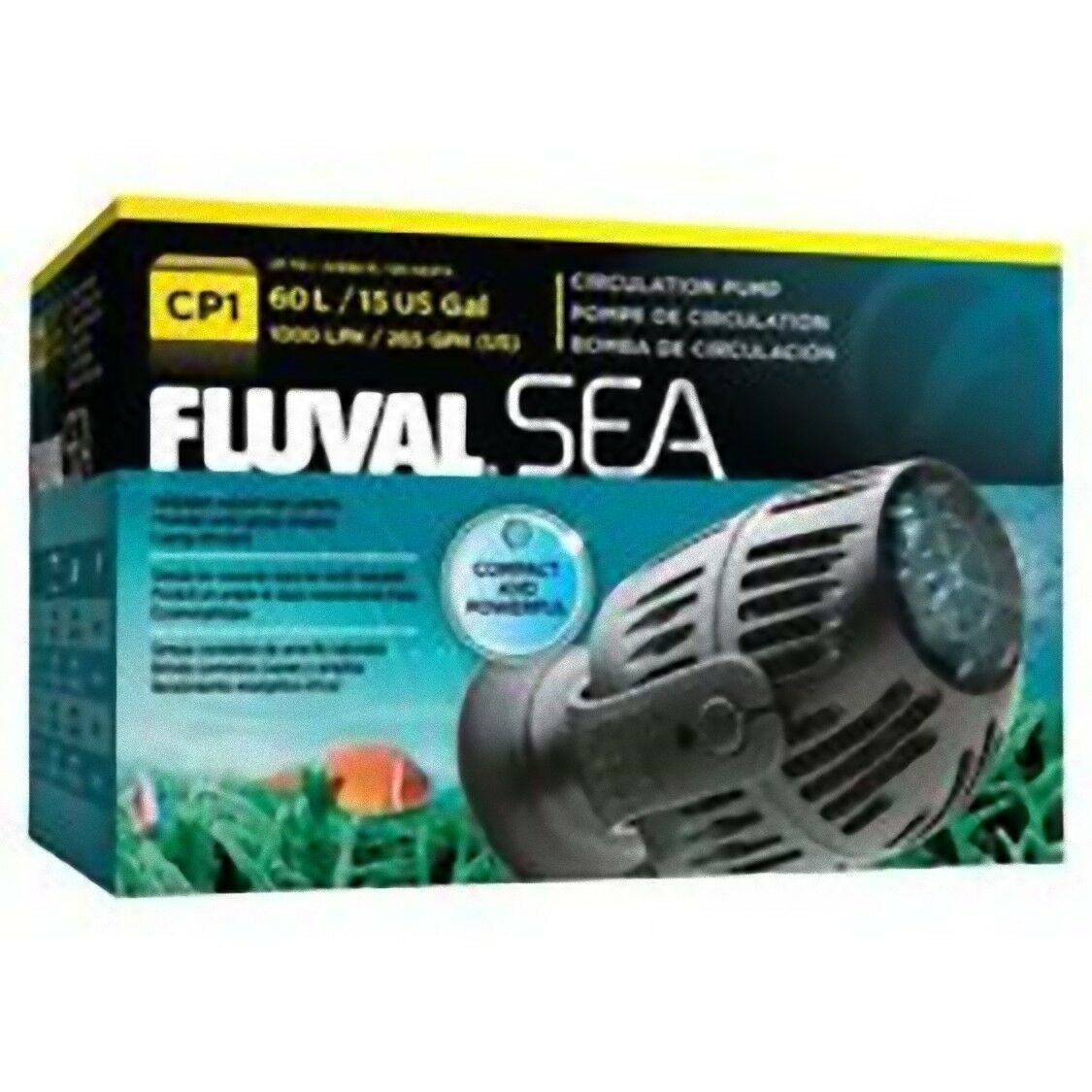 Fluval Sea Wavemaker Quiet Circulation Pump Aquarium Marine Reef Fish Tank