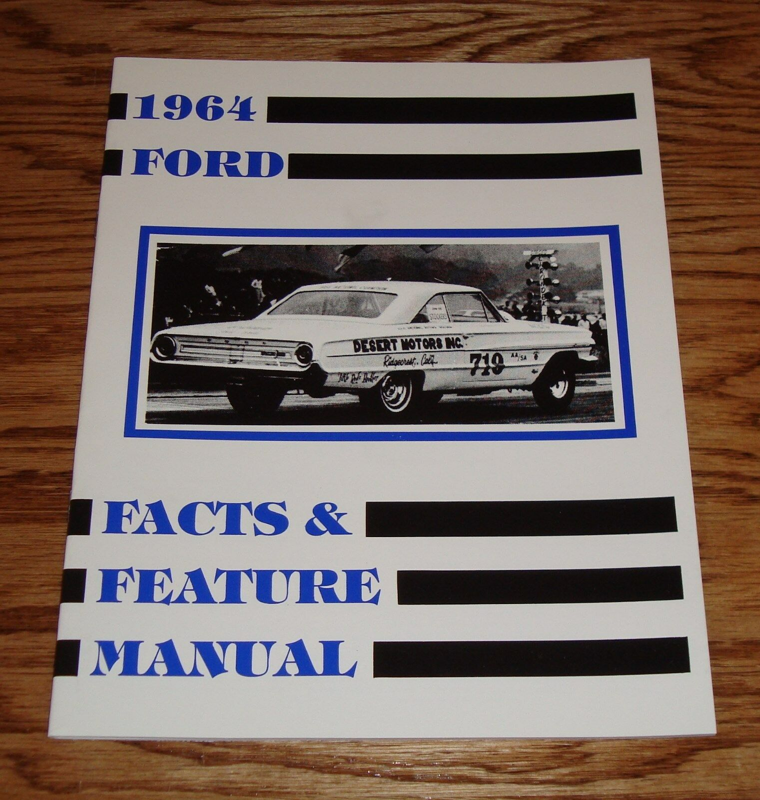 1964 Ford Illustrated Facts Feature Manual Brochure 64 Galaxie Wiring Diagram 1 Of See More