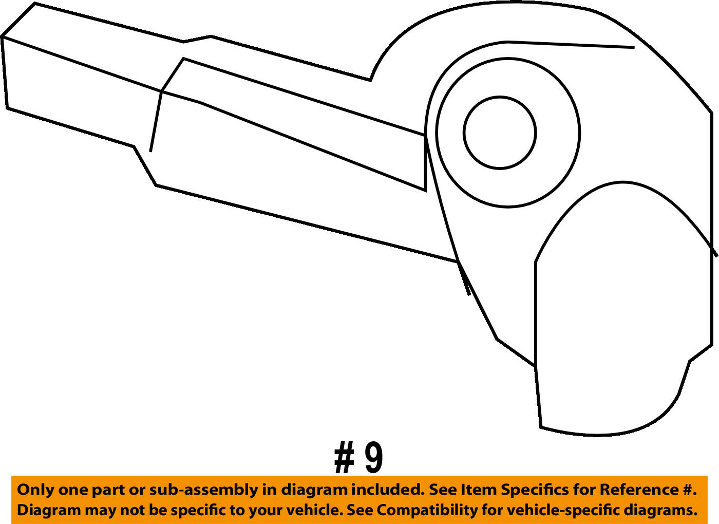FORD OEM F-350 Super Duty-Engine Crankshaft Crank Position Sensor CPS  BC3Z6C315A 1 of 2Only 0 available ...