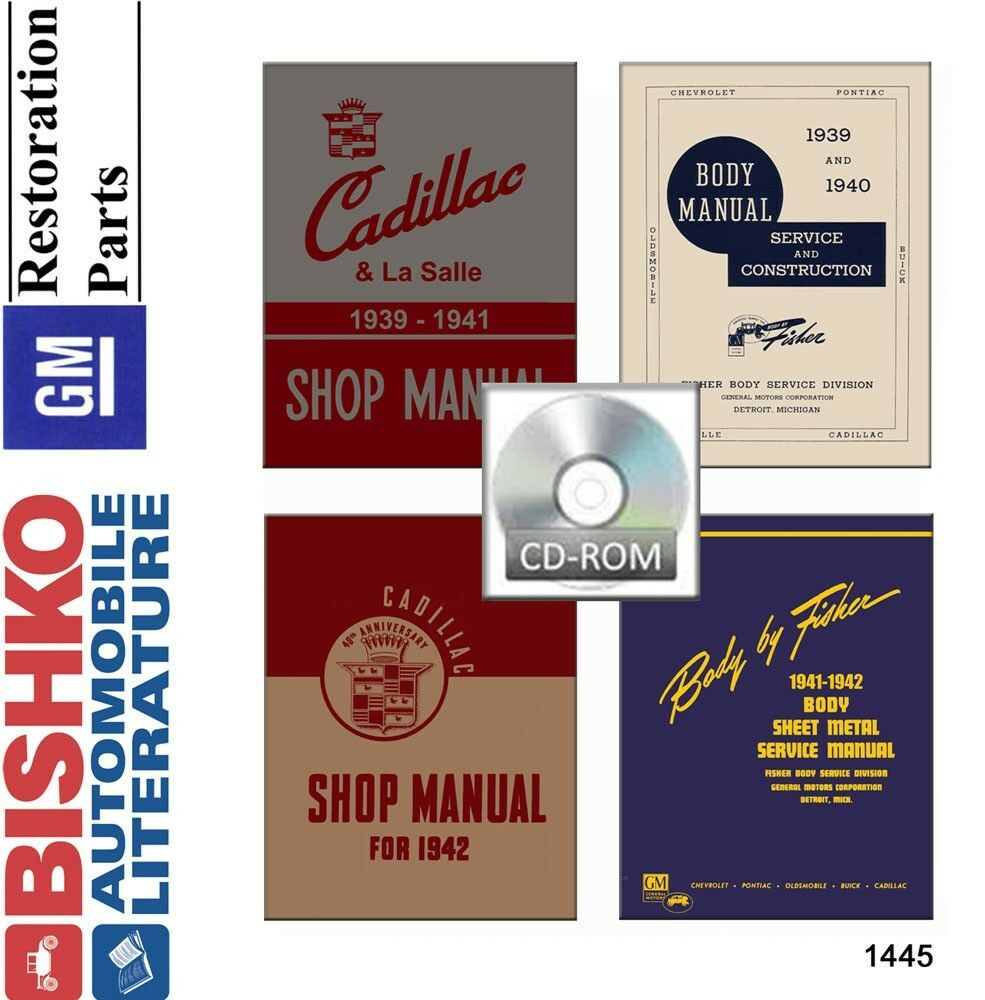 1939 1940 1941 1942 Cadillac Shop Service Repair Manual Cd Engine Charging Circuit Diagram For The 1951 52 All Models 1 Of See More