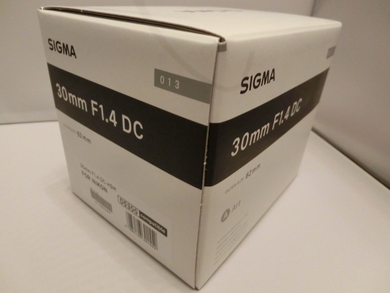 Brand New Sigma 30mm F14 Dc Hsm Art Black Lens For Nikon F Mount 14 A Canon 1 Of 2only Available