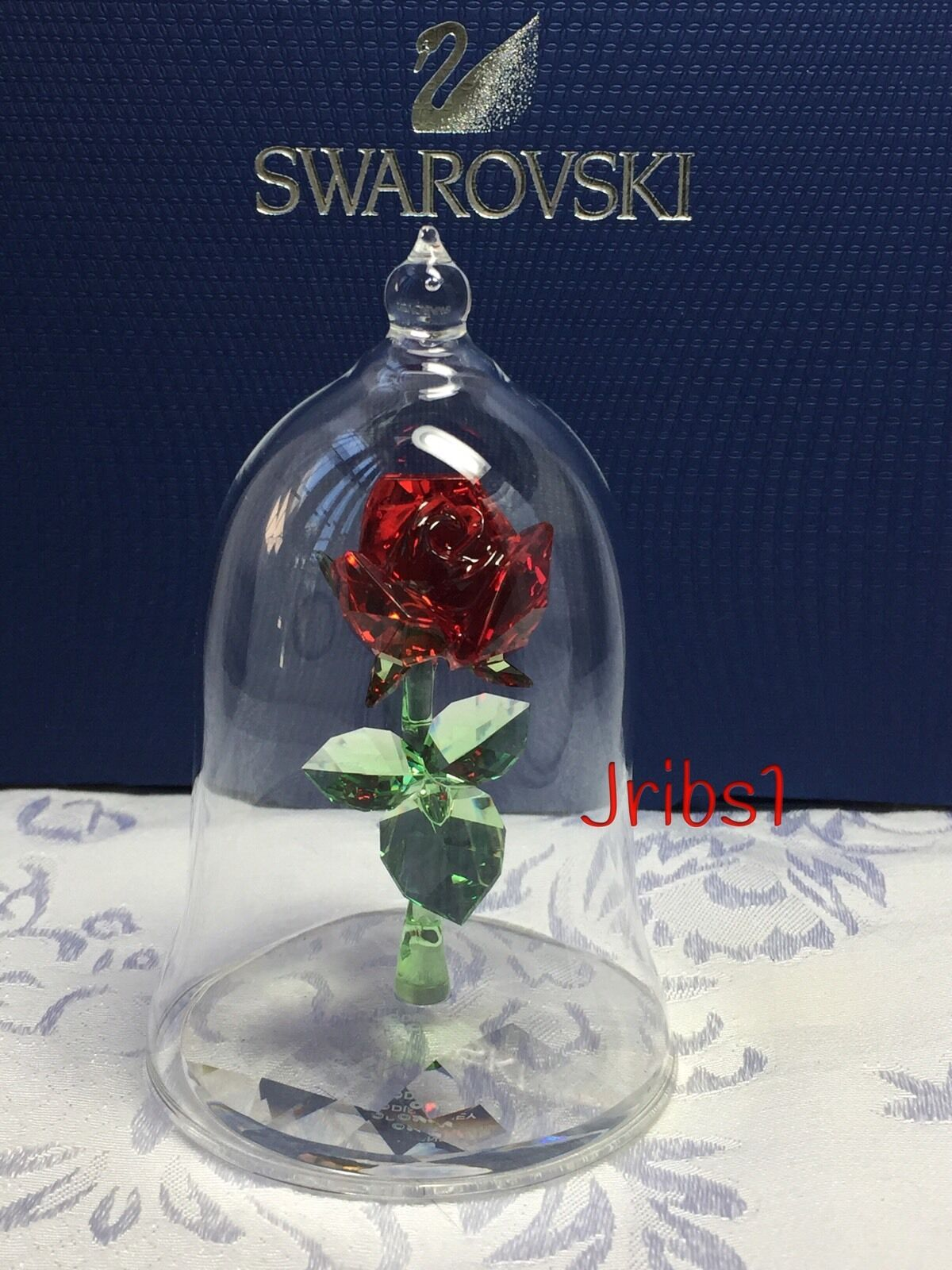 SWAROVSKI ENCHANTED ROSE Crystal Figurine 5230478 DISNEY ...