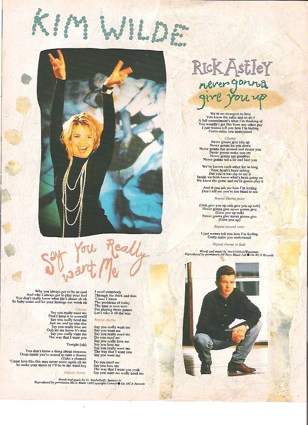 rick astley lyrics essay Was the student actually rick astley rick roll essay rickrolling – wikipedia rickrolling, alternatively rick-rolling, is a prank and an internet meme involving an unexpected appearance of the music video for the  music video, rick roll essay – ron de joode, schrijfcoach it isn x27t an easy job rick roll essay to fit rick astley x27s lyrics into a scientific or factual trollface epic rick roll in essay – funnyjunk epic rick roll in essay give this guy a medal according to the.