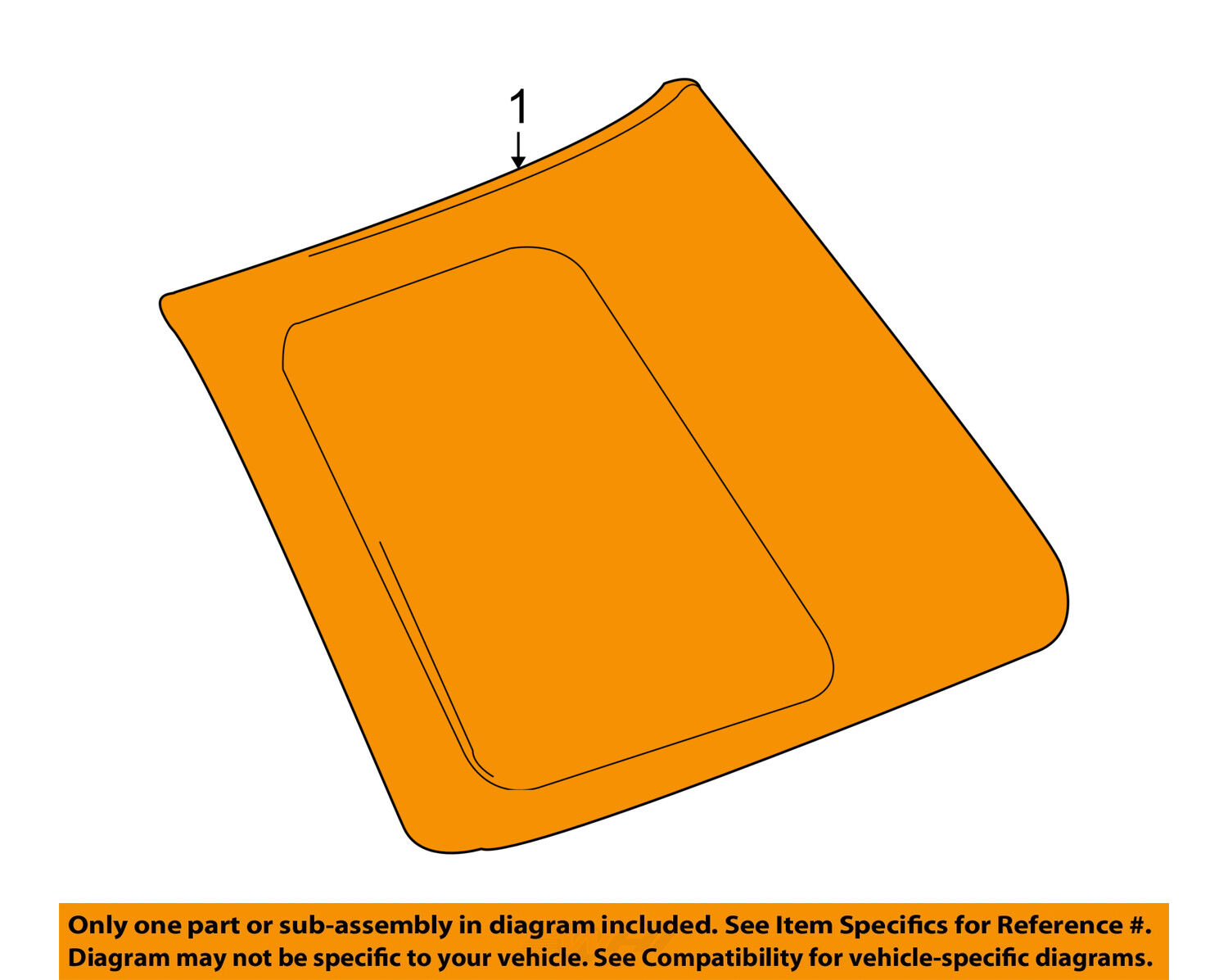 Toyota Oem Fj Cruiser Rear Quarter Panel Side Window Glass Right 1993 Land Engine Diagram 1 Of 2only 5 Available