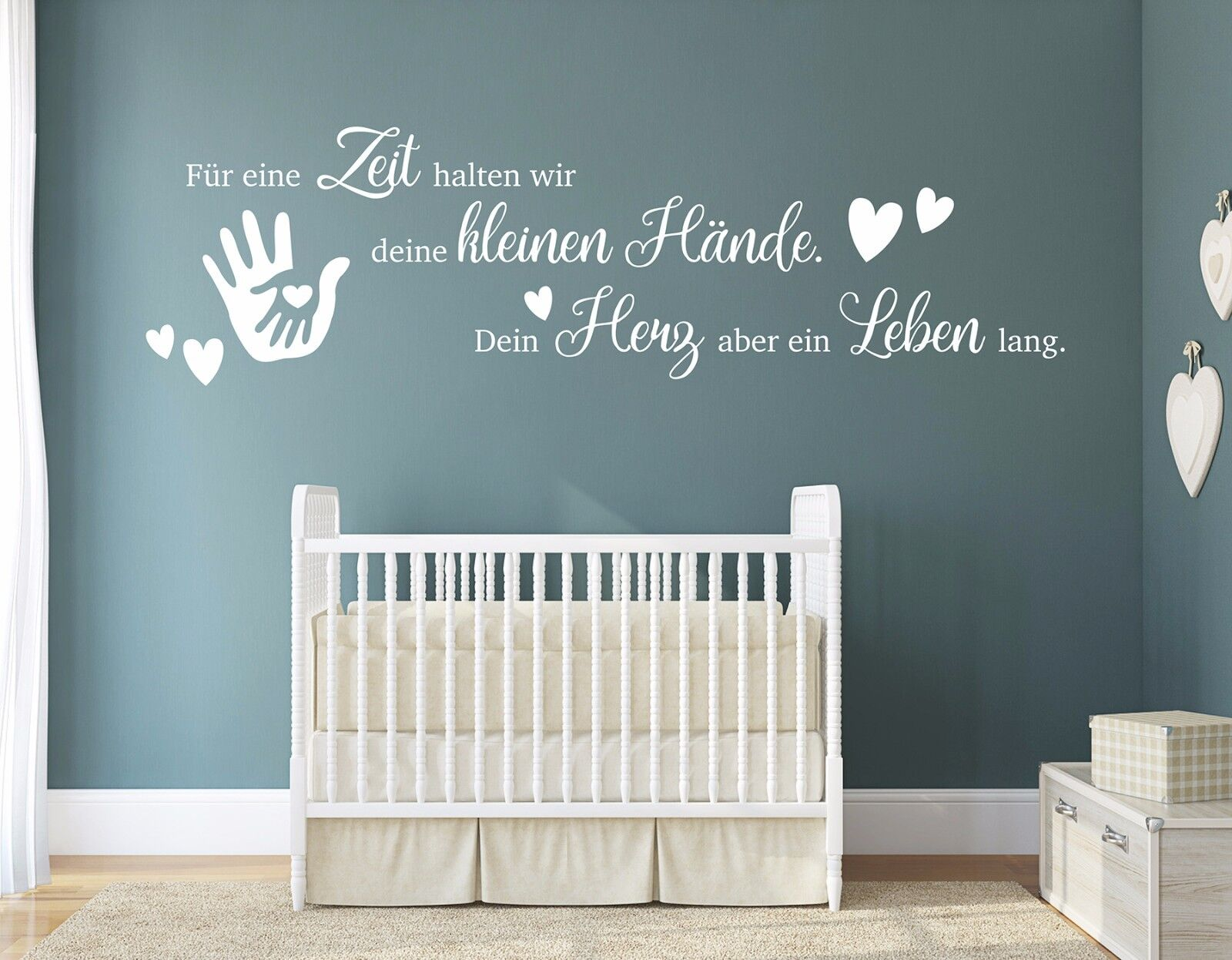 wandtattoo kinderzimmer wandtatoo m dchen junge babyzimmer wandspruch pkm191 eur 14 39. Black Bedroom Furniture Sets. Home Design Ideas